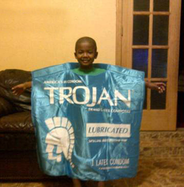 condom costume