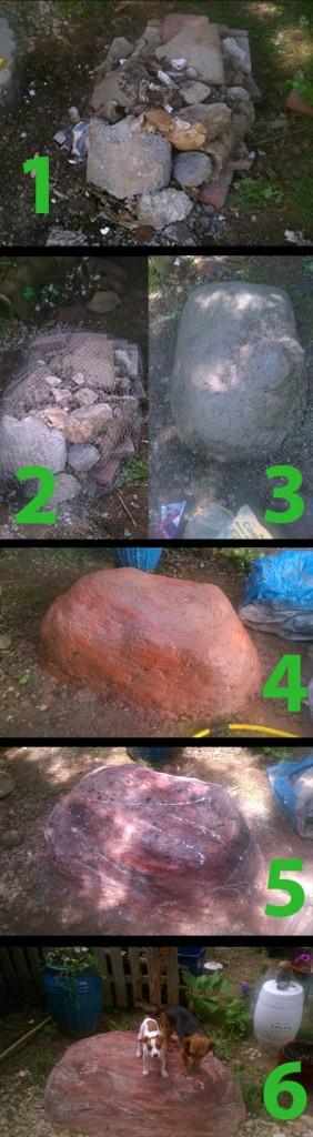 DIY rocks